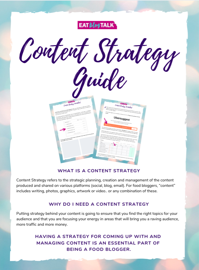 front cover of a Content Strategy Guide