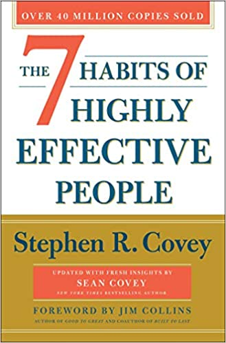 7 habits of highly effective people cover - best business books