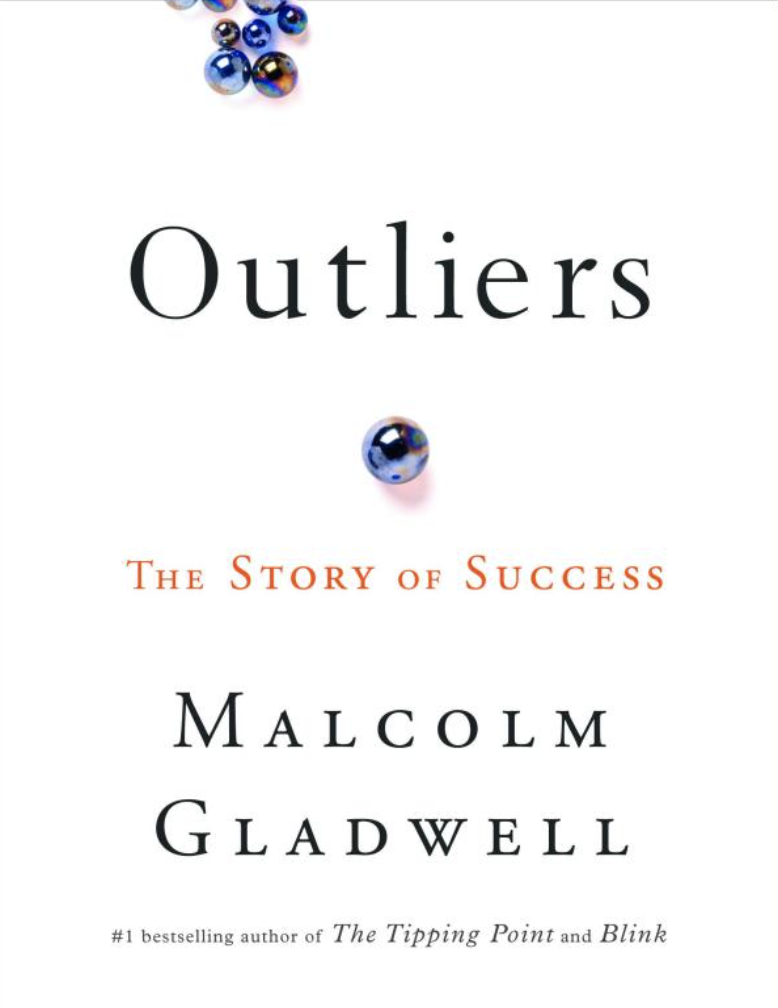 outliers cover - best business books