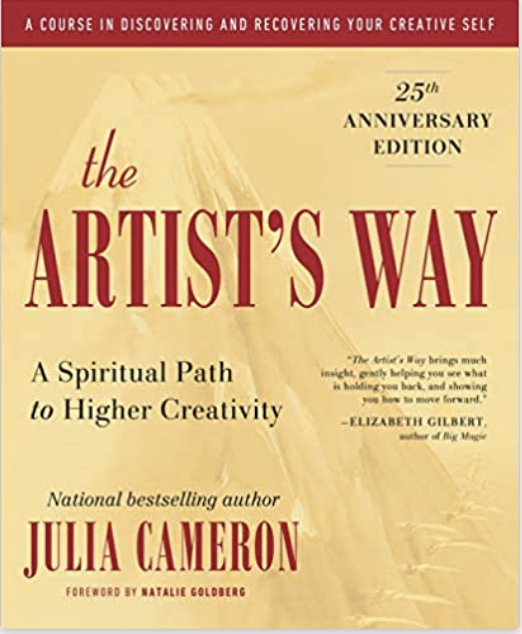 the artist's way book cover by julia cameron