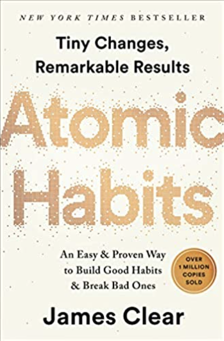 Atomic habits cover - best business books