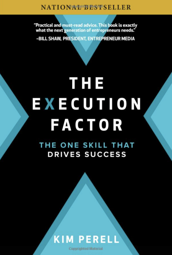the execution factor cover - best business books