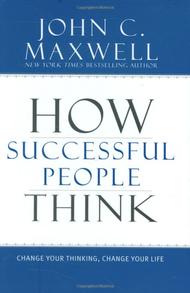 How successful people think cover - best business books
