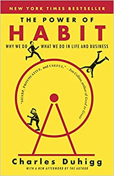 power of habit cover - best business books