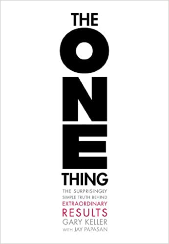 the one thing cover - best business books