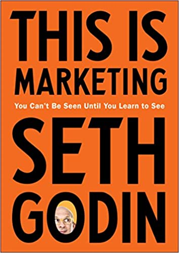 this is marketing by seth godin book cover