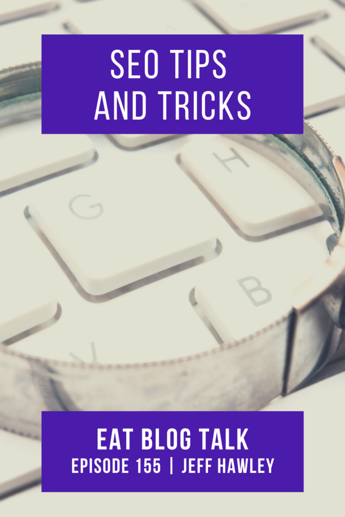 pinterest image for seo tips and tricks