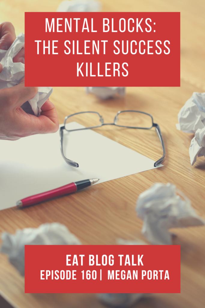 pinterest image for mental blocks: the silent success killers