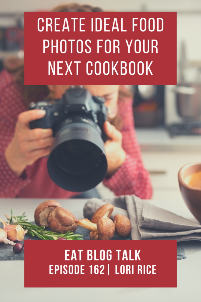 pinterest image for create idea food photos for your next cookbook