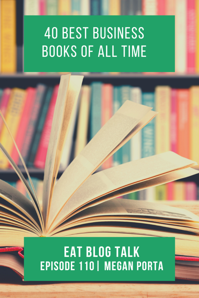 pinterest image for 40 best business books of all time