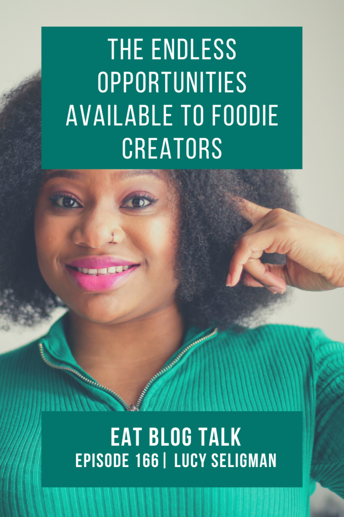 pinterest image for the endless opportunities available to foodie creators