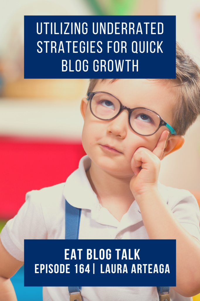 pinterest image for utilizing underrated strategies for quick blog growth