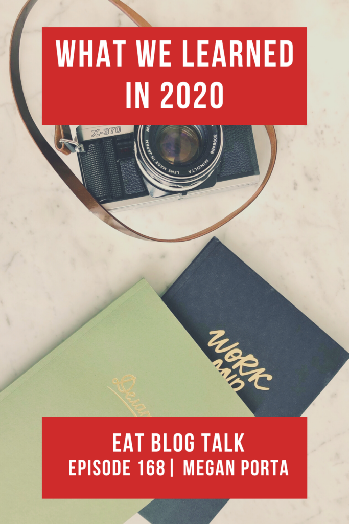 pinterest image for what we learned in 2020