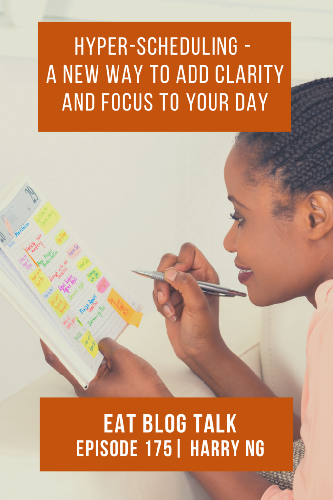 pinterest image of Hyper-Scheduling - A New Way To Add Clarity and Focus to Your Day