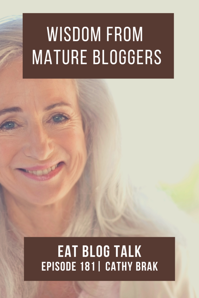pinterest image for wisdom from mature bloggers