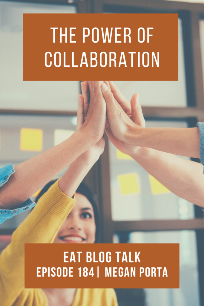 pinterest image for the power of collaboration