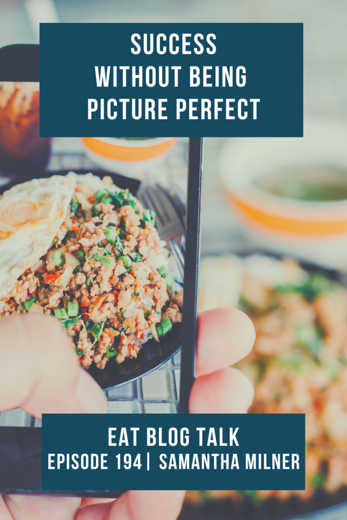 pinterest image for success without being picture perfect
