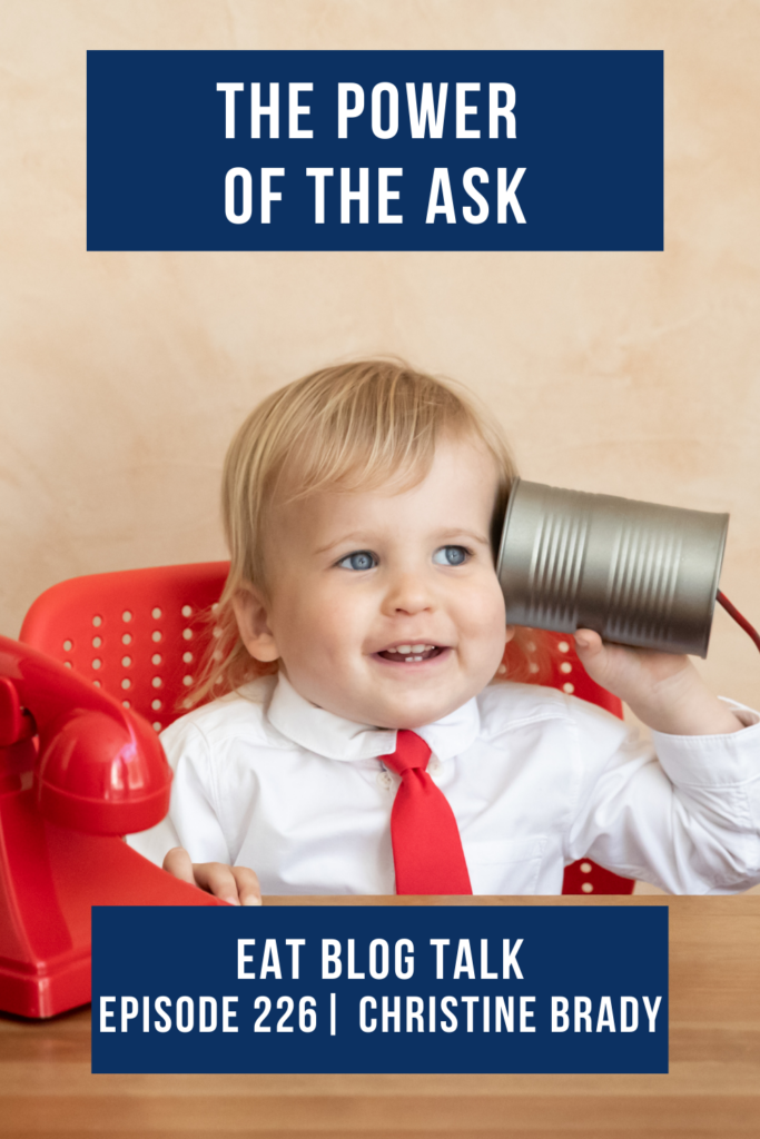 Pinterest image for episode 226 the power of the ask.